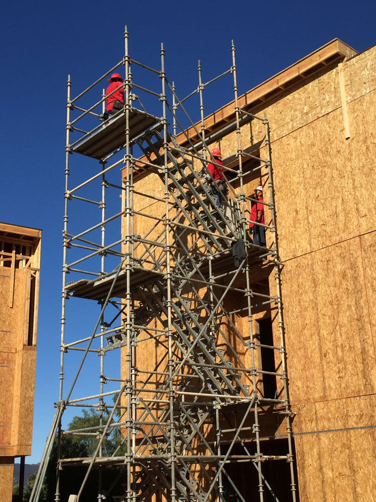 Scaffolding Accessories: Stair Towers